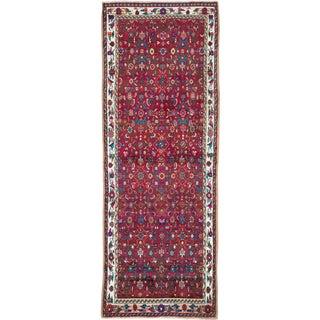 "Vintage Persian Hamadan Rug – Size: 3' 1"" X 8' 4"" For Sale"