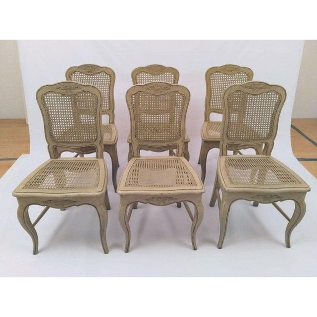 French French Country Dining Chairs - Set of 6 For Sale - Image 3 of 5
