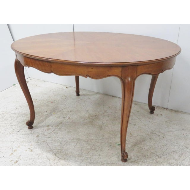 Kindel cherry french provincial dining table chairish kindel cherry french provincial dining table image 6 of 6 workwithnaturefo