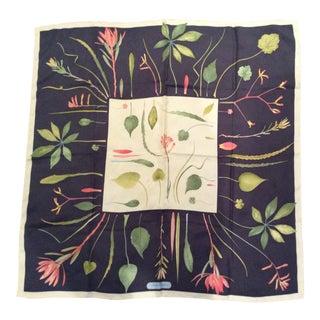 1980s Ferragamo Silk Scarf For Sale