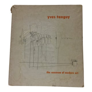 1955 Vintage Yves Tanguy Museum of Modern Art Book For Sale