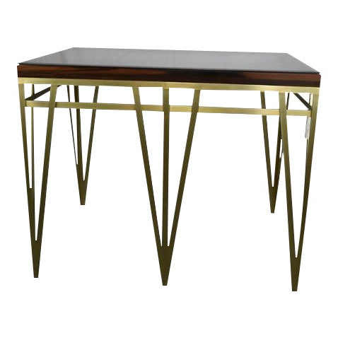Solid Macassar Top Desk - Image 1 of 3