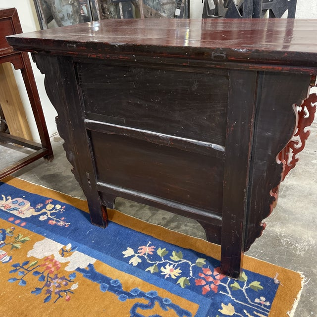Vintage Chinese Alter Table Desk For Sale - Image 4 of 12