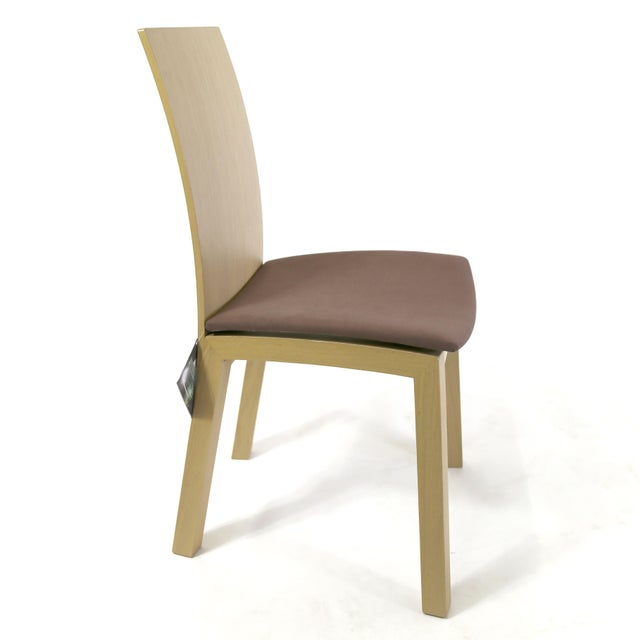 Idealsedia Italian Made Post Modern Side Chairs - a Pair For Sale - Image 10 of 13