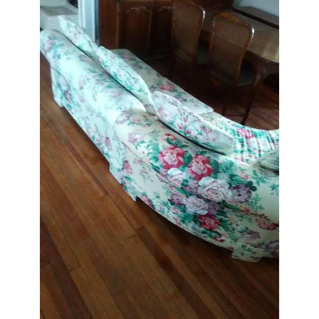 Vintage Ethan Allen Curved Sectional Sofa - Image 6 of 8