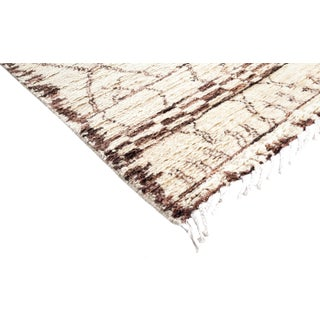 Ivory Moroccan Tribal Rug Preview
