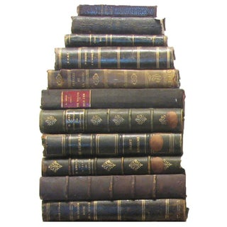 French Distressed Leather Book Collection 18th-20thC., S/49 Preview