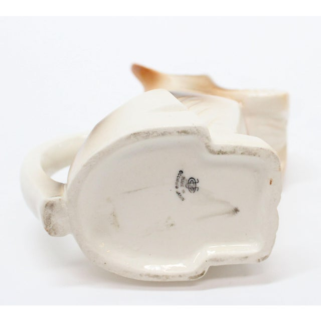 Occupied Japan Ceramic Terrier Creamer - Image 5 of 5