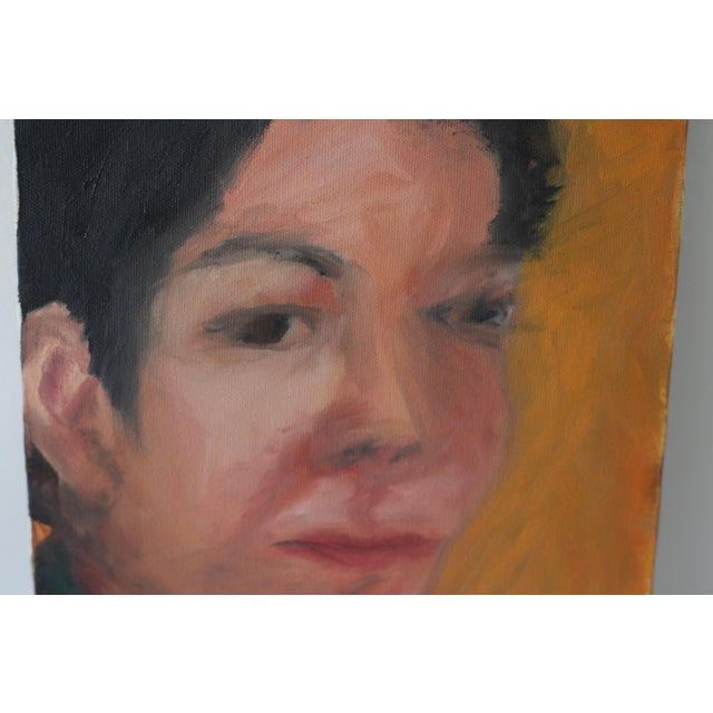 Portrait of a Woman Painting by Janet Mamon - Image 3 of 7