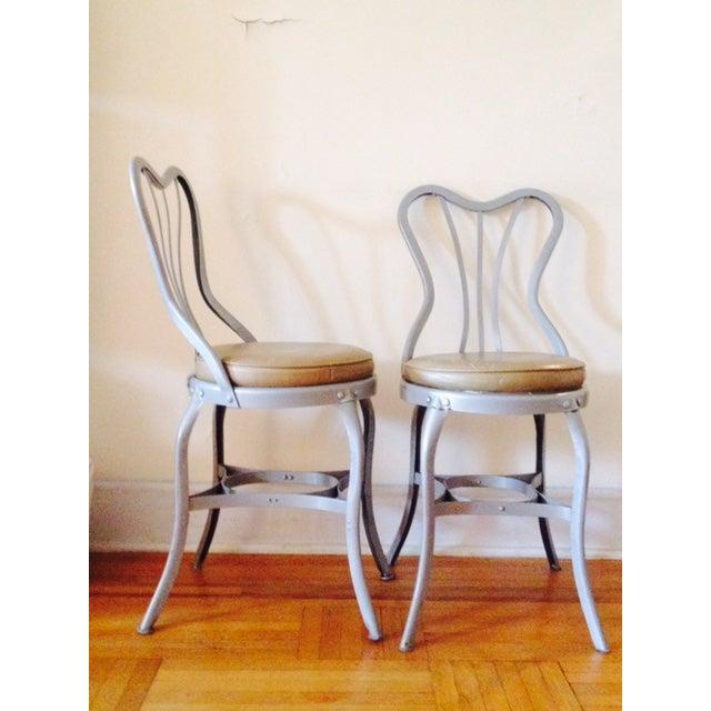 "Toledo ""Uhl Art Steel"" Chairs - Pair - Image 3 of 4"
