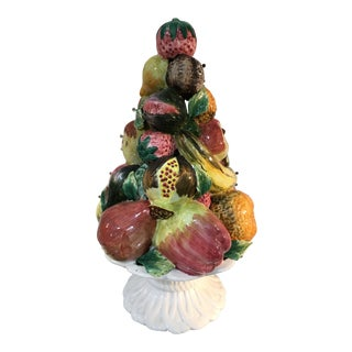 Italian Fruit Topiary Display For Sale