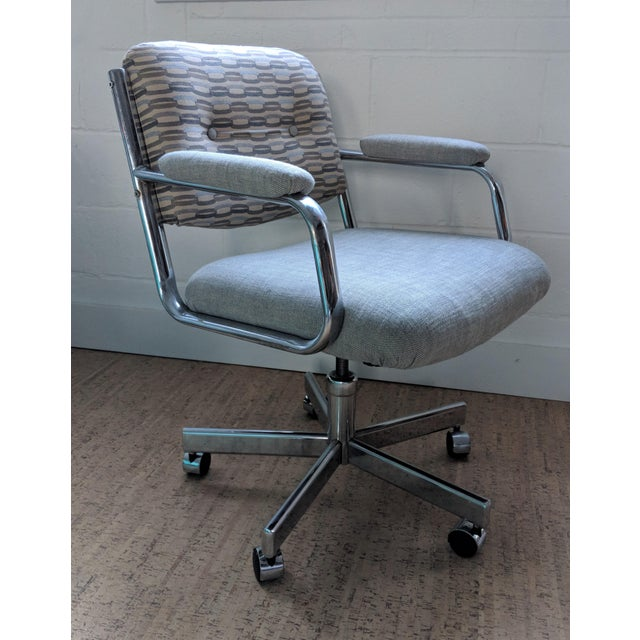 Executive Office Chair - by Chromcraft For Sale - Image 11 of 11