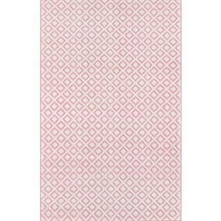 """Madcap Cottage Lisbon Sintra Pink Area Rug 3'6"""" X 5'6"""" For Sale"""