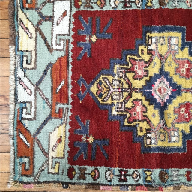 Vega Small Turkish Tribal Rug - 2′1″ × 3′2″ - Image 4 of 7