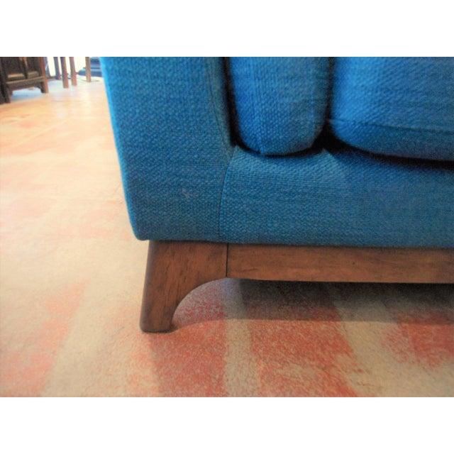 Ceni Lagoon Blue 3 Seat Sofa For Sale - Image 4 of 4
