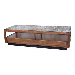 1970's Mid-Century Modern John Keal for Brown Saltman Coffee Table For Sale
