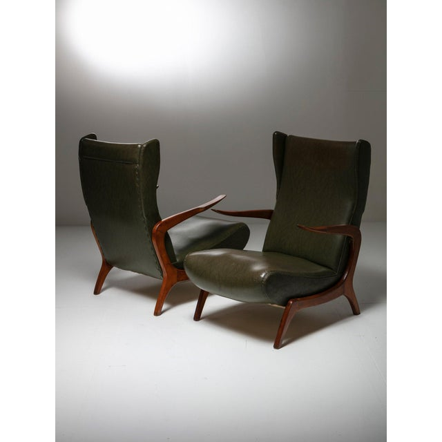 Set of Two Bergères With Footrest For Sale - Image 11 of 11