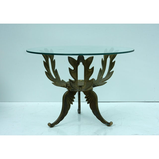 1950s V.L. Viar Bronze & Glass Coffee Table - Image 2 of 8