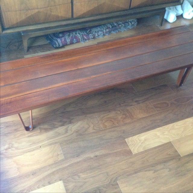 Edward Wormley for Dunbar Long John Coffee Table - Image 5 of 5