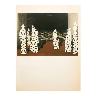 """1972 Rene Magritte, """"The Regalia of the Storm"""" Original Photogravure For Sale"""