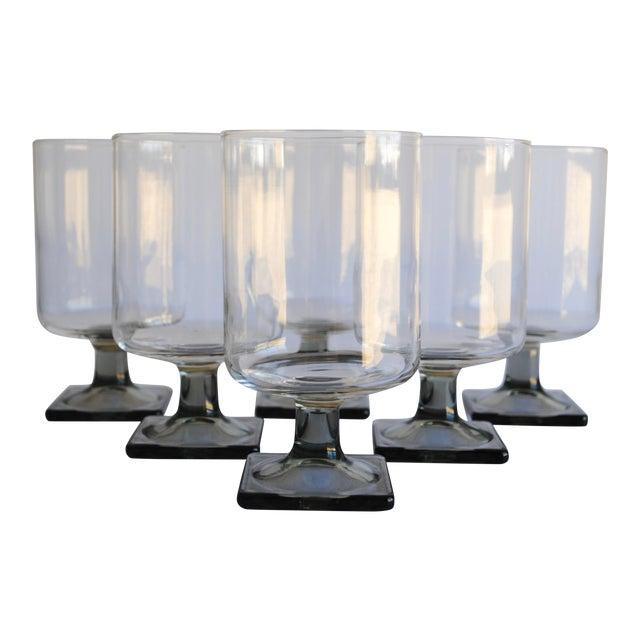 Mid-Century Modern Glasses - Set of 6 - Image 1 of 4