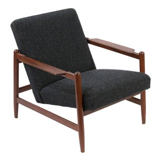 1960s Vintage Ikea Bengt Ruda Sarek Reclining Chair For Sale