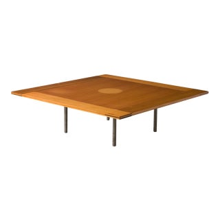 Rare PK-43 square coffee table For Sale