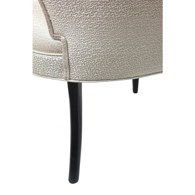 Mid-Century Modern Tommi Parzinger Side Chairs - a Pair For Sale - Image 9 of 10