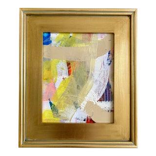 """Jessalin Beutler """"Lemon Bar"""" 2021 Framed Painting For Sale"""