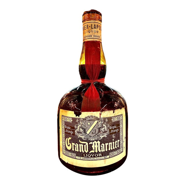 Early 20th Century FrenchMarnier Advertising Bottle For Sale