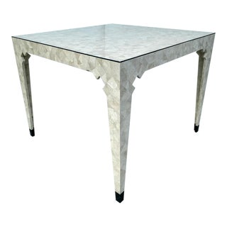 Oggetti Tessellated Stone Table, Vintage For Sale