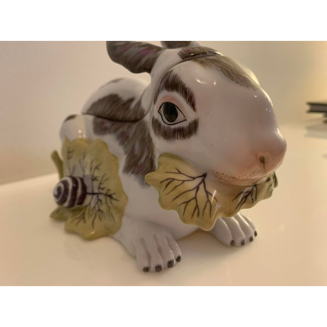 Mid 20th Century Chelsea House Porcelain Rabbit For Sale In Miami - Image 6 of 10