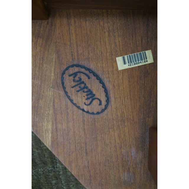 Stickley Mission Style Cherry Octagon Small Side Table Taboret Stand For Sale - Image 10 of 10