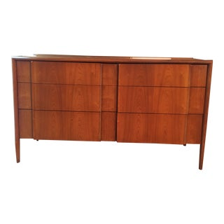 1960s Mid-Century Modern Barney Flagg for Drexel Furniture Company Six Drawer Dresser For Sale