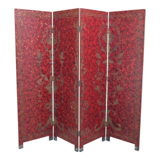 Maitland Smith Decorative Dressing Folding Screen Room Divider