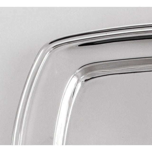 Towle Silversmiths Sterling Mary Chilton Tray For Sale - Image 4 of 8