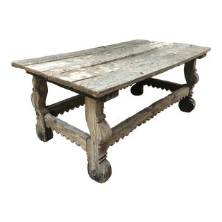 Rustic Outdoor Wood Table