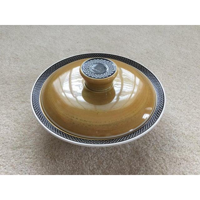 White Mid-Century Ironstone Casserole Dish For Sale - Image 8 of 8