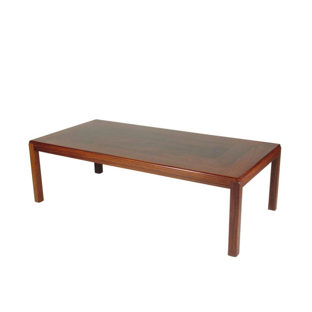 Mid-Century Modern 1960s Mid-Century Modern Rosewood Coffee Table For Sale - Image 3 of 9