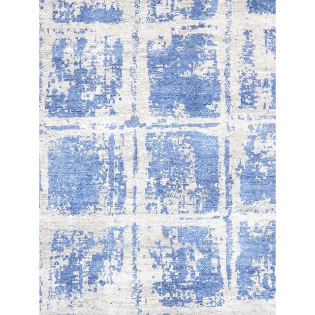 """Pasargad Modern Bamboo Silk Area Rug - 8'10"""" X 12' 3"""" - Image 2 of 3"""