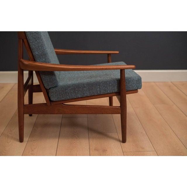 Vintage Mid Century Grete Jalk Danish Teak Lounge Chair Chairish
