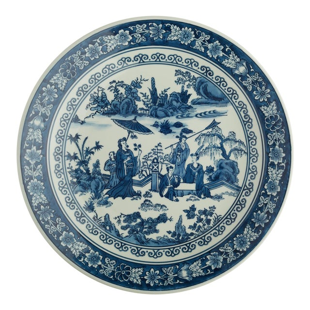 Chinese Tozai Home Blue & White Bowl For Sale