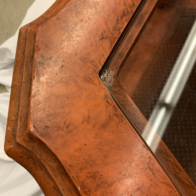 Orange Chinese Chippendale Coffee Table For Sale - Image 12 of 13
