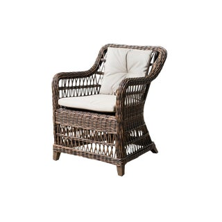 Modern Arbor Outdoor Chair Bronze For Sale