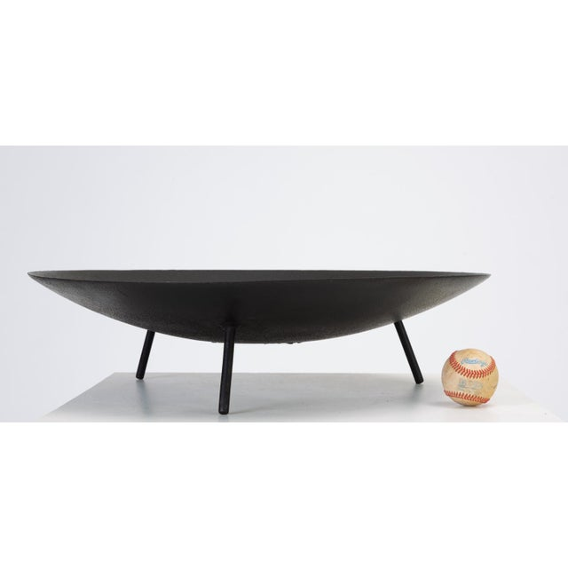 Large Modernist Fire Pit or Brazier with Tripod Base For Sale In Los Angeles - Image 6 of 11