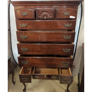 Chippendale Queen Anne Two-Piece Chest on Chest by Monitor Furniture Company Preview