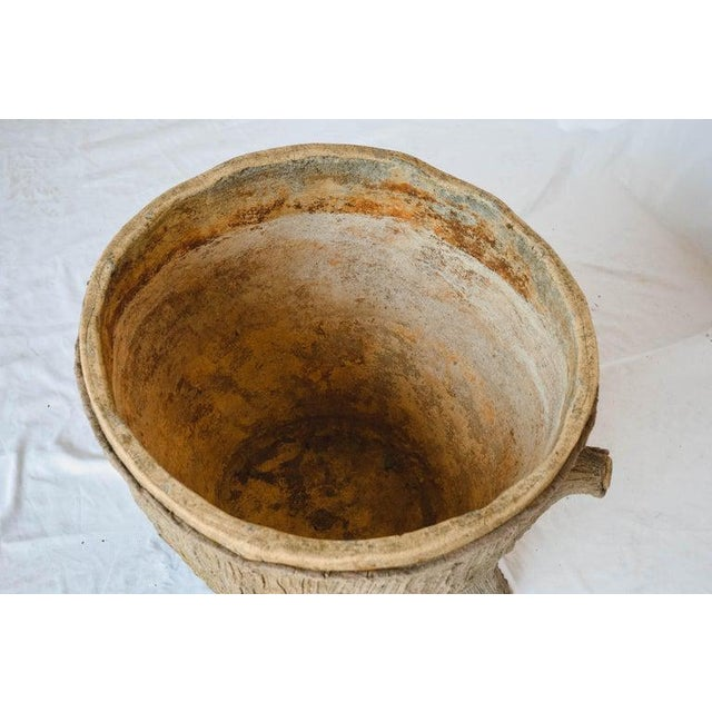 Mid 20th Century Faux Bois Planter For Sale - Image 10 of 13