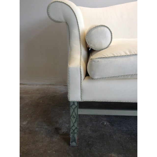 Kittinger Chippendale Sofa With Fretwork Legs - Image 4 of 5