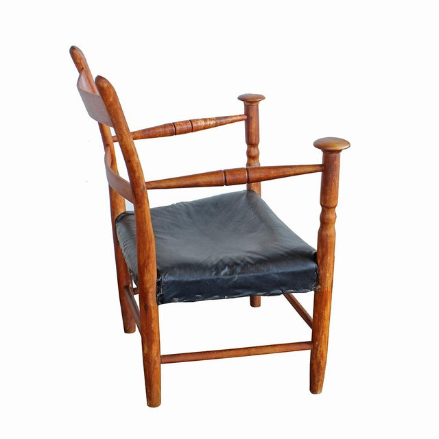 Primitive Arm Chair - Image 2 of 4