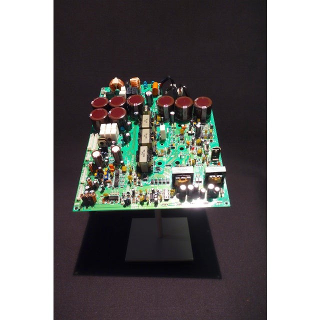 Component Art Sculpture of Mid 20th Century Video Processing Circuitry For Sale In Dallas - Image 6 of 7